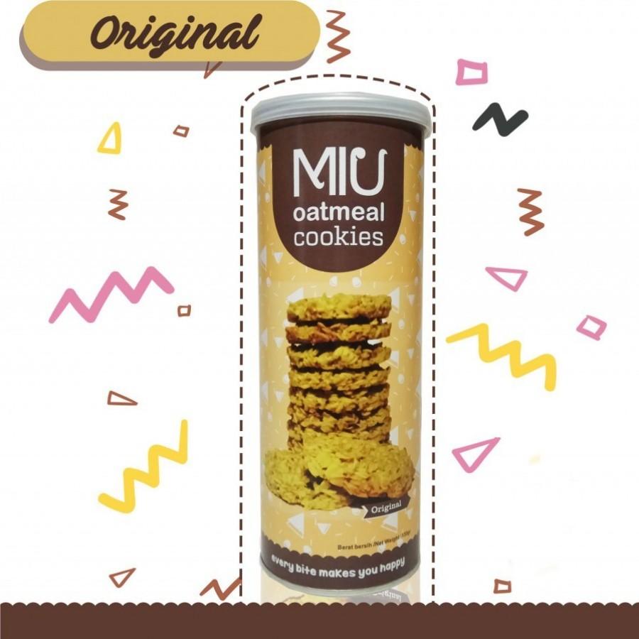 MIU Oatmeal Cookies Original Besar