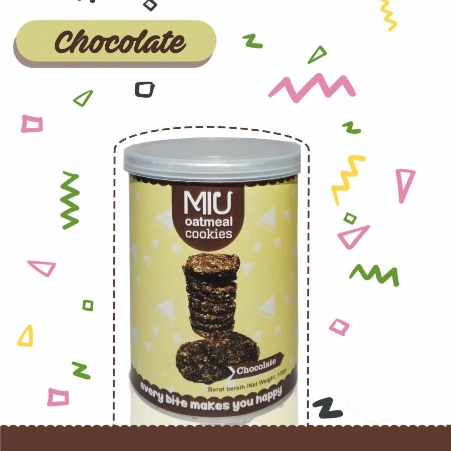 MIU Oatmeal Cookies Chocolate Kecil