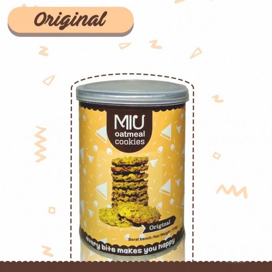 MIU Oatmeal Cookies Original Kecil
