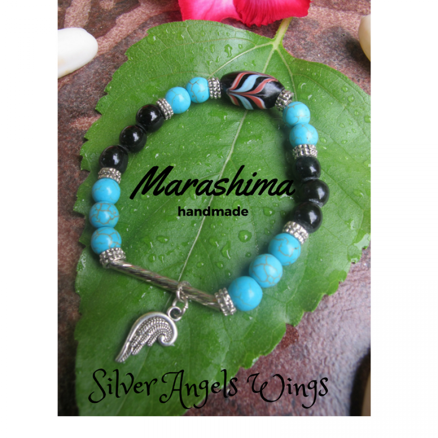 Gelang Silver Angel Wings
