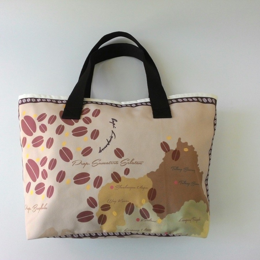 Nammina Home Totebag & Pouch Kopi Lampung Brown