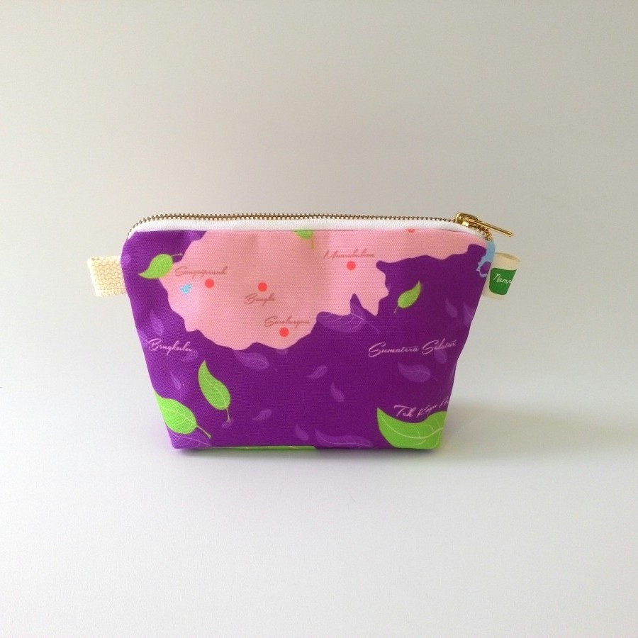 Nammina Home Sling Bag & Pouch Teh Kayu Aro Sea Purple