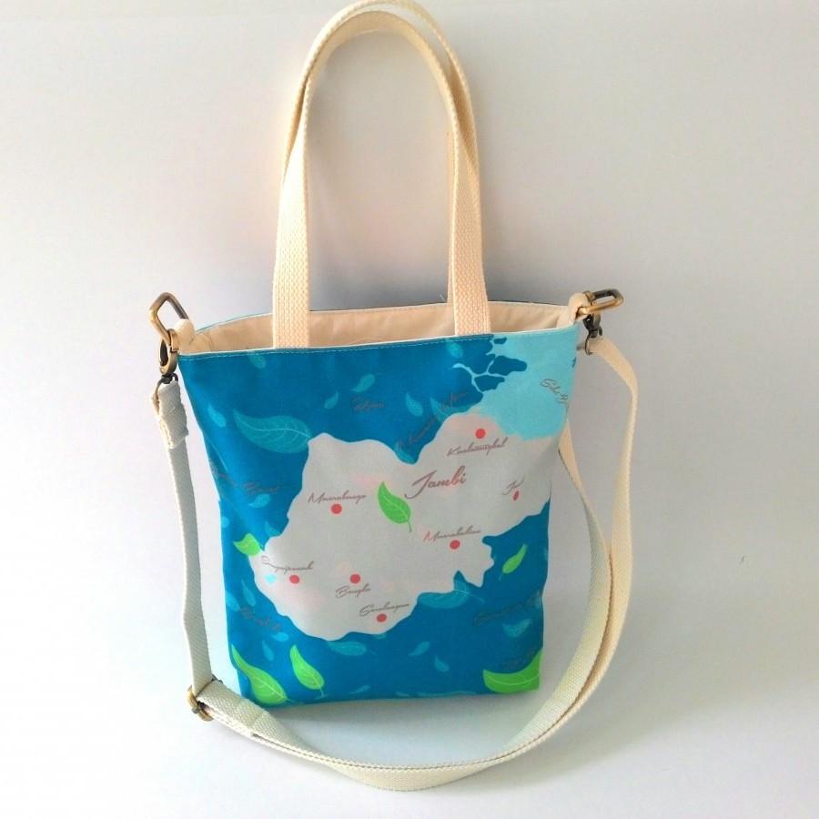Nammina Home Sling Bag & Pouch Teh Kayu Aro Green Marine