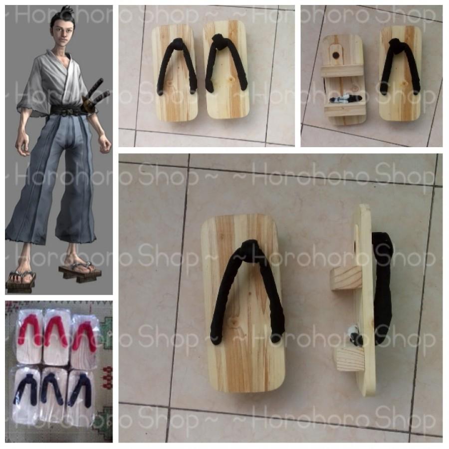 geta kotak/sandal jepang