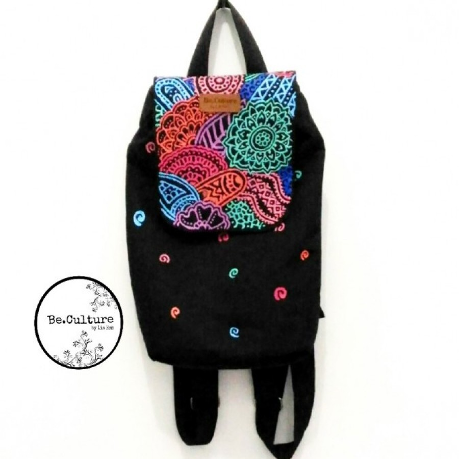 Mini Backpack Zentangle