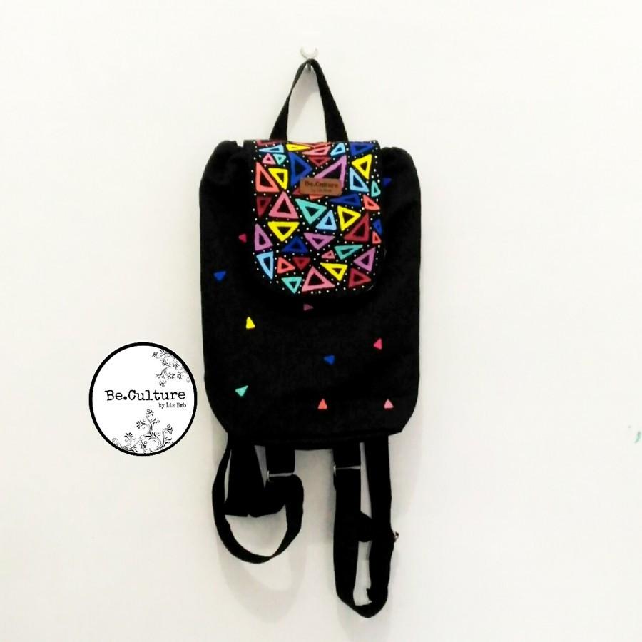 Mini Backpack Triangles
