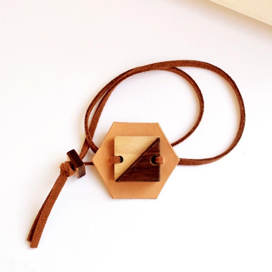Recycle Leather Bracelet I