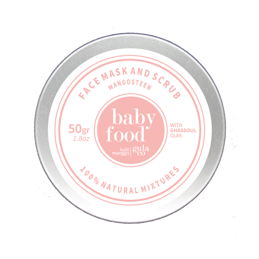 Baby Food Face Scrub & Mask