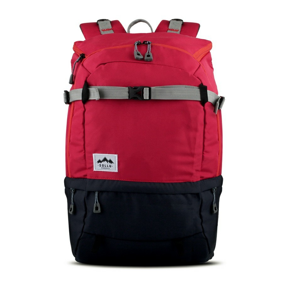 Sollu Wanderpack Summit Red Navy