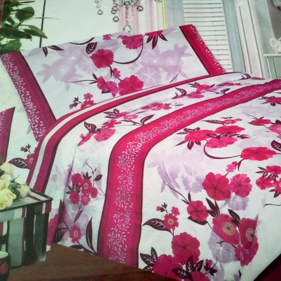 Seprei Rosalia F1064 - Pink uk.160 cm