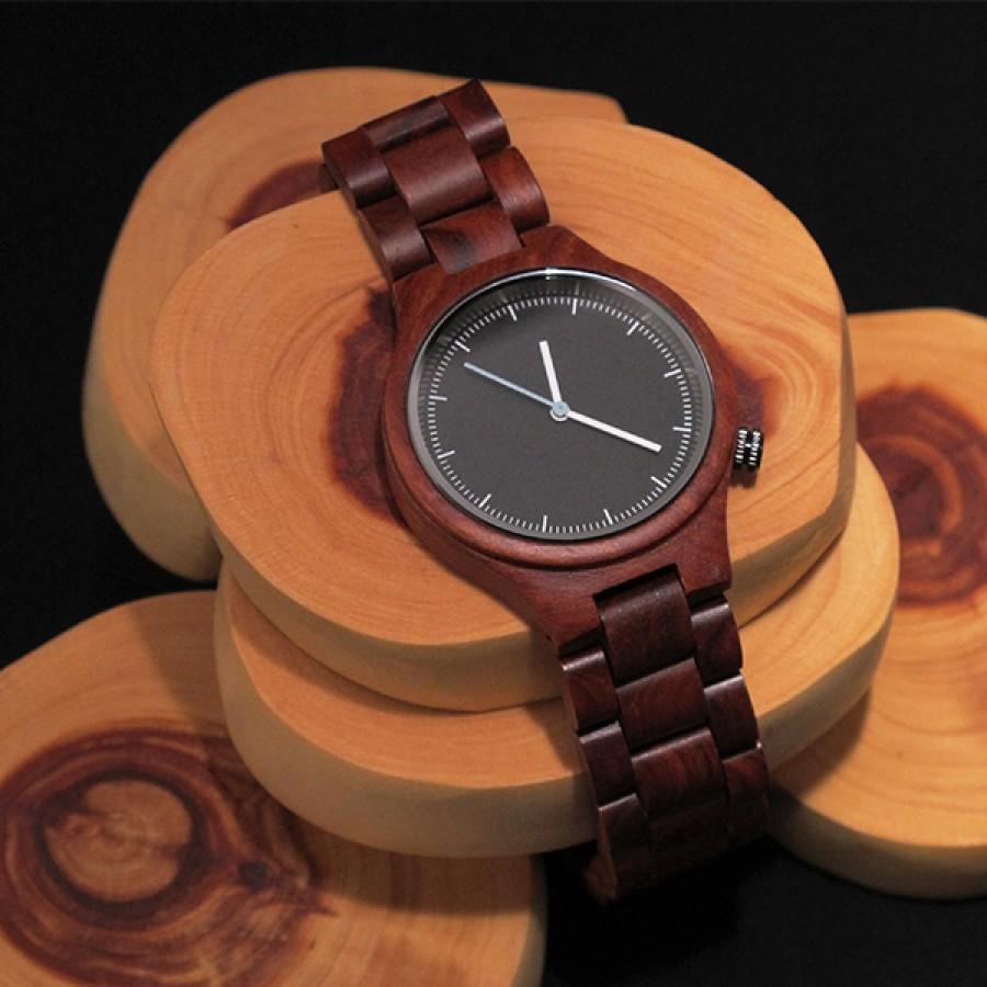 SAGE - Wood Watch / Jam Tangan Kayu Unisex