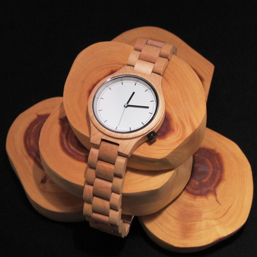 SENECA - Wood Watch / Jam Tangan Kayu Unisex
