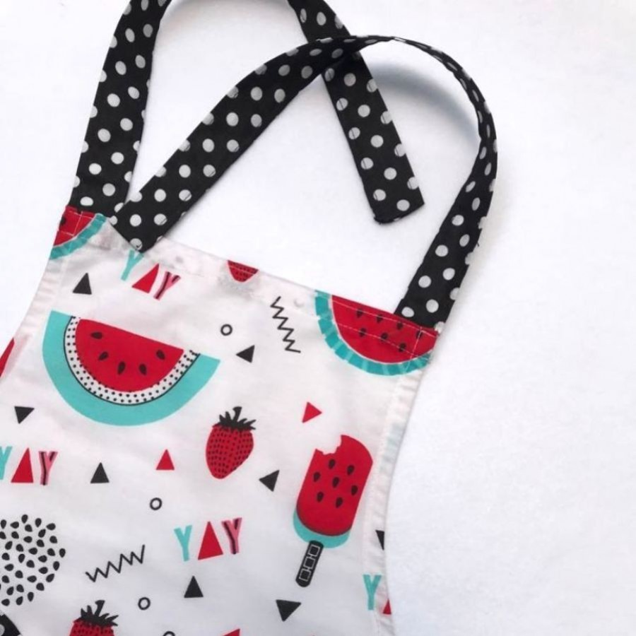 Apron/Celemek Memasak Anak - Watermelon