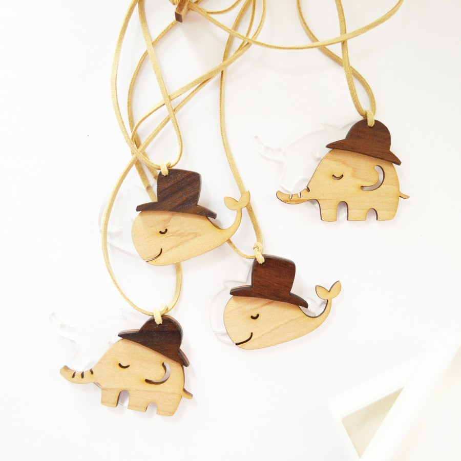 Wild Wooden Necklace