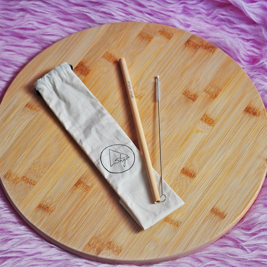 Hya Bamboo Straw Kit