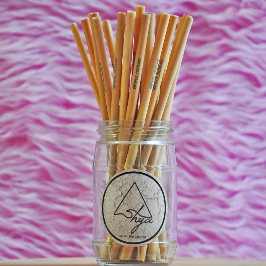 Hya Bamboo Straw Kit