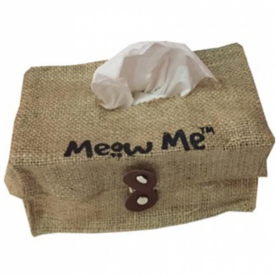 Tissue Box Meow Me