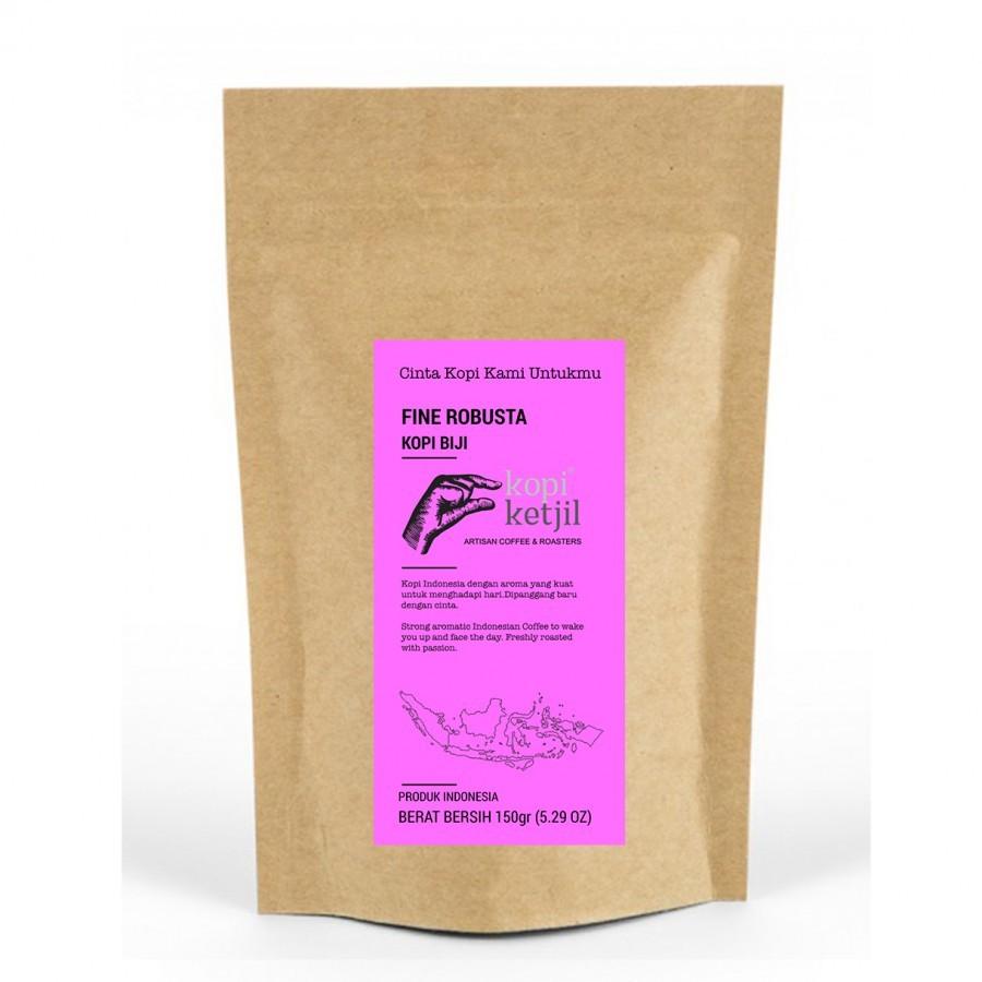 Fine Robusta Ground Coffee Beans