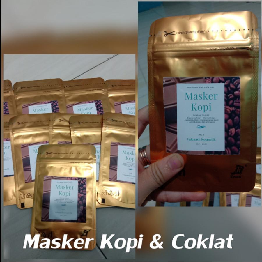 Masker wajah/masker kopi with coklat/masker coklat kopi original