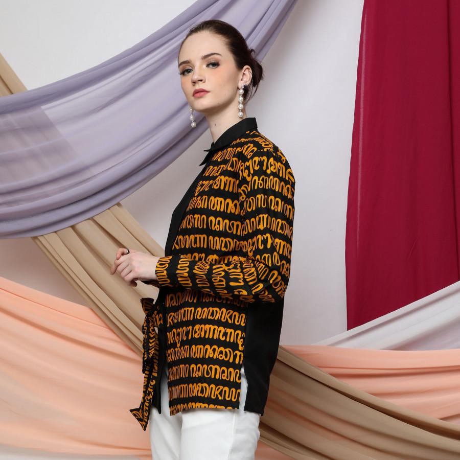 Batik Dirga Bimasakti Atasan Wanita / Kemeja Batik