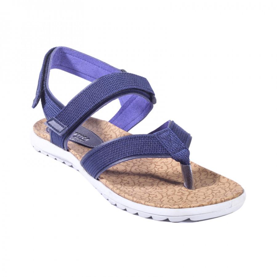 Ovra Navy | Lvnatica Footwear Sandal Wanita Casual