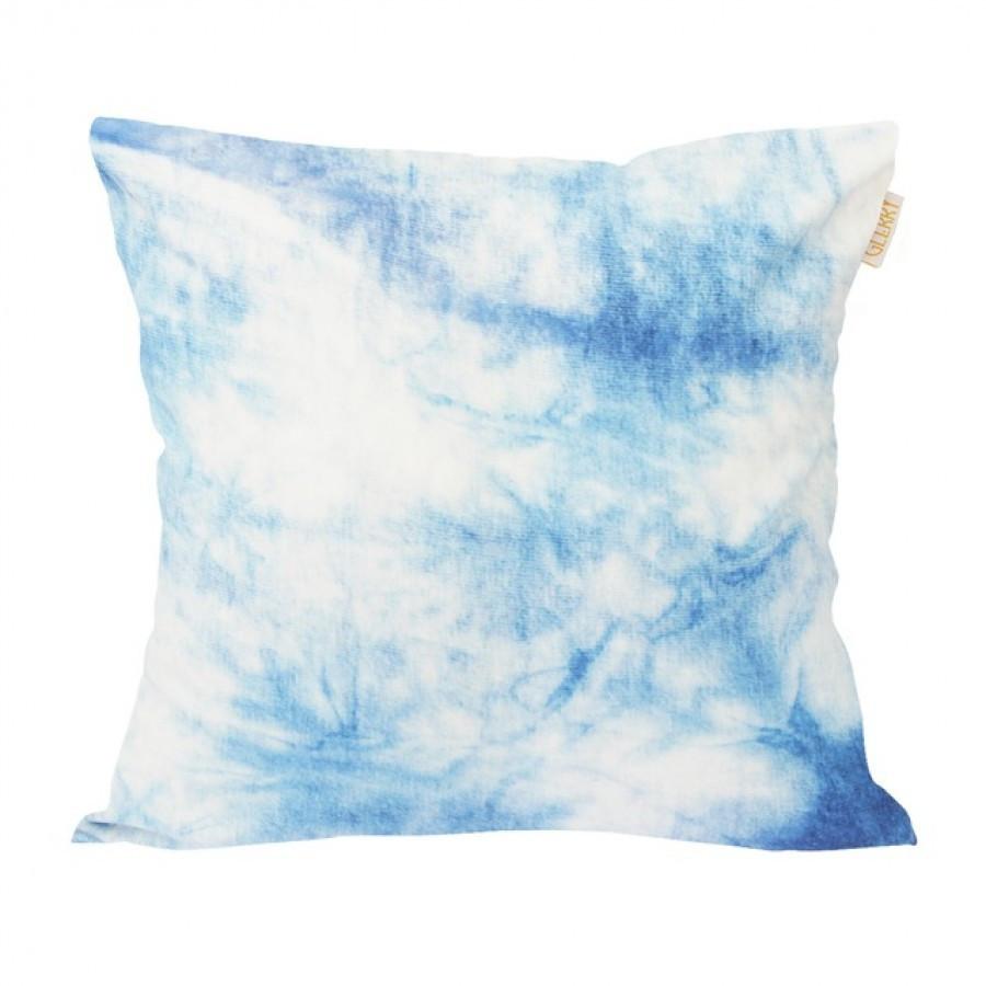 Blue Froth Cushion 40 x 40
