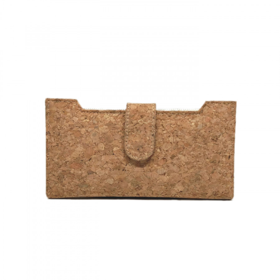 Dompet lipat / Fold wallet / panjang Cork - LightenUp
