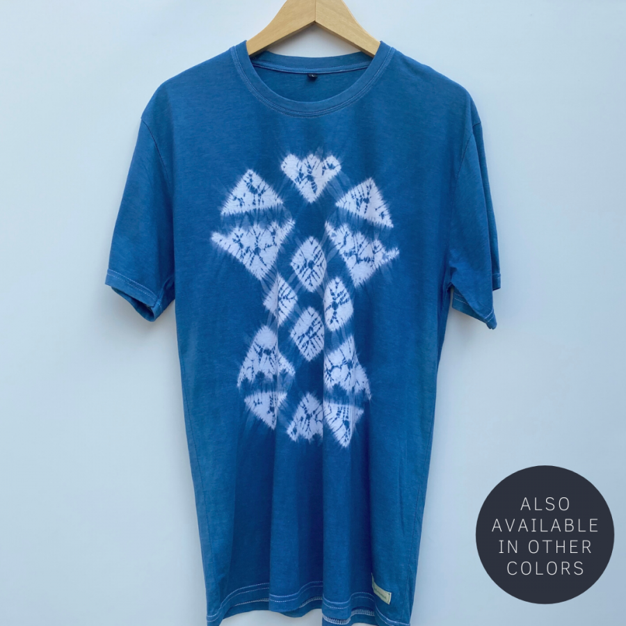 Natural Dye Jumputan T-Shirt - Jiropat