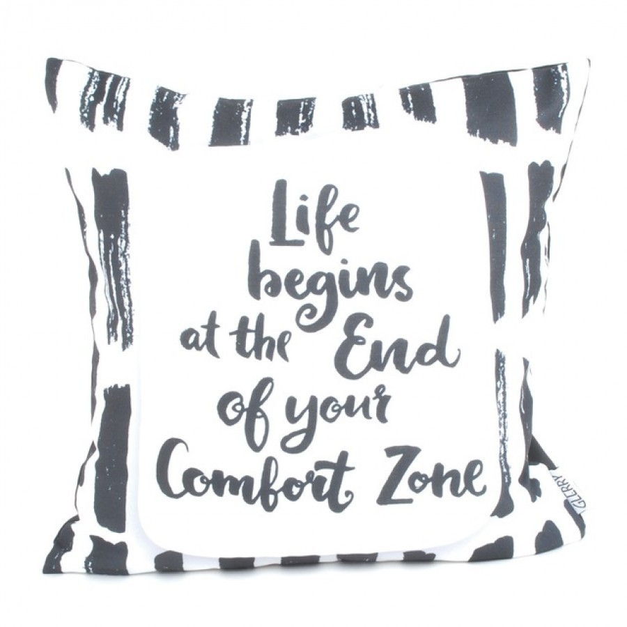 Life Begins Cushion 40 x 40