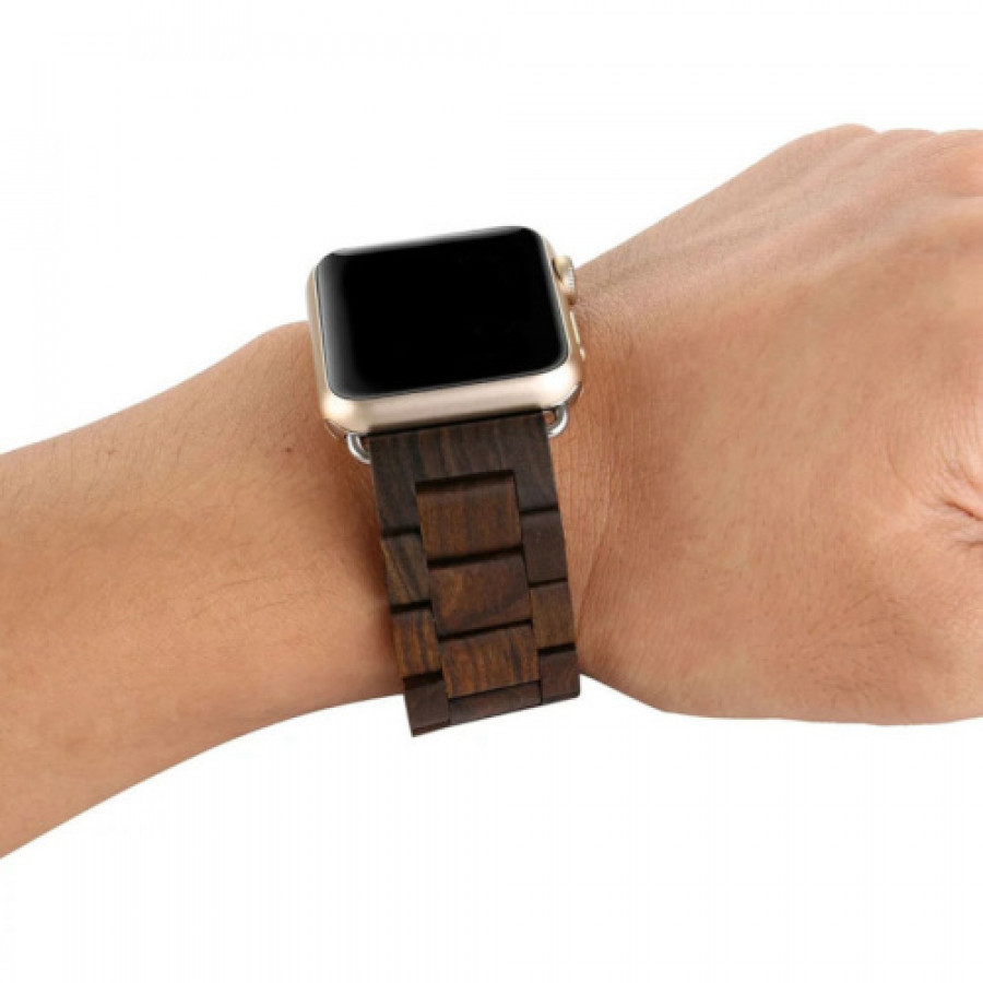 WOODEN APPLE WATCH STRAP