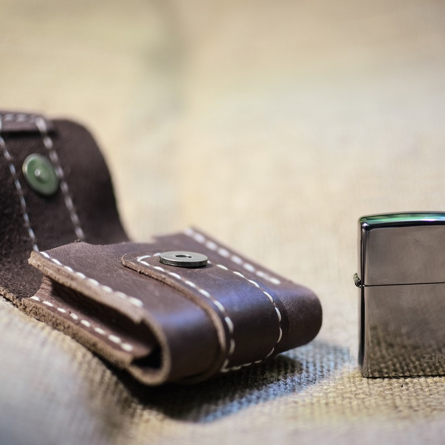 Zippo Pouch - Balee Leather