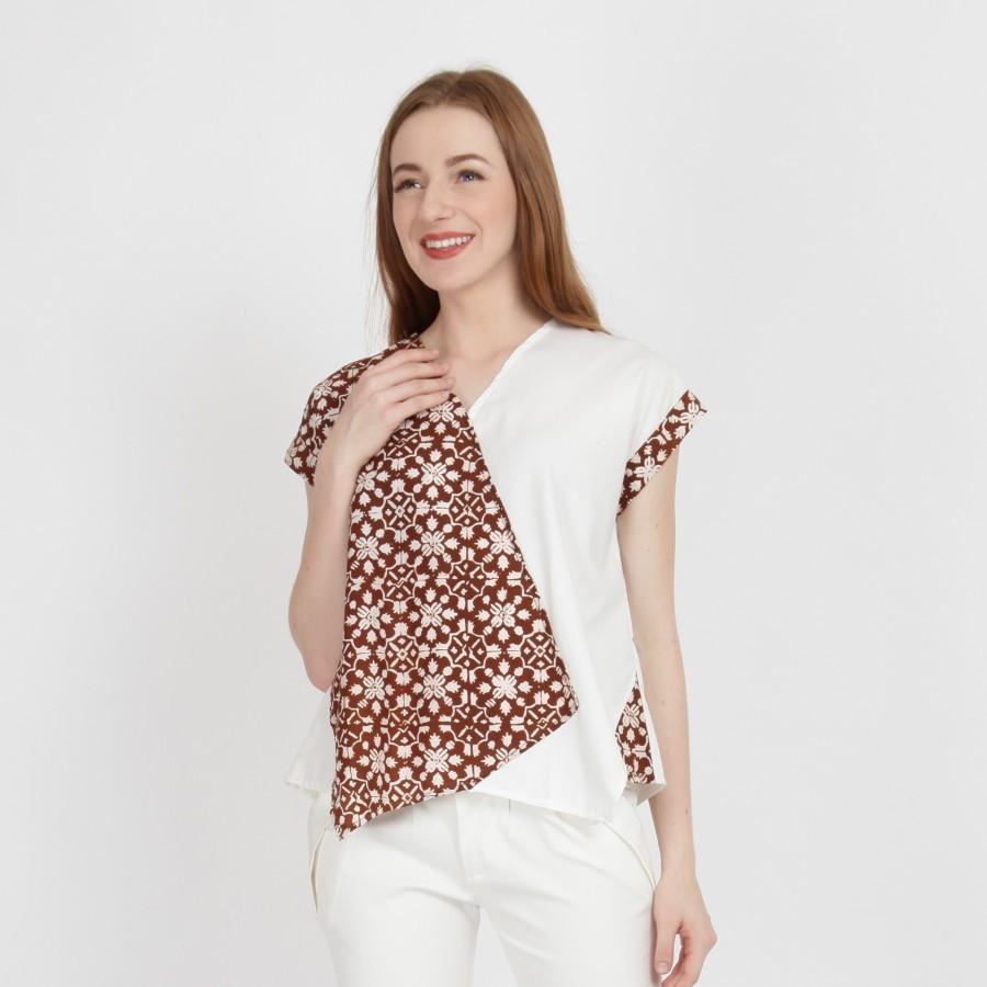 Batik Dirga Belinda Atasan Wanita / Blouse Batik