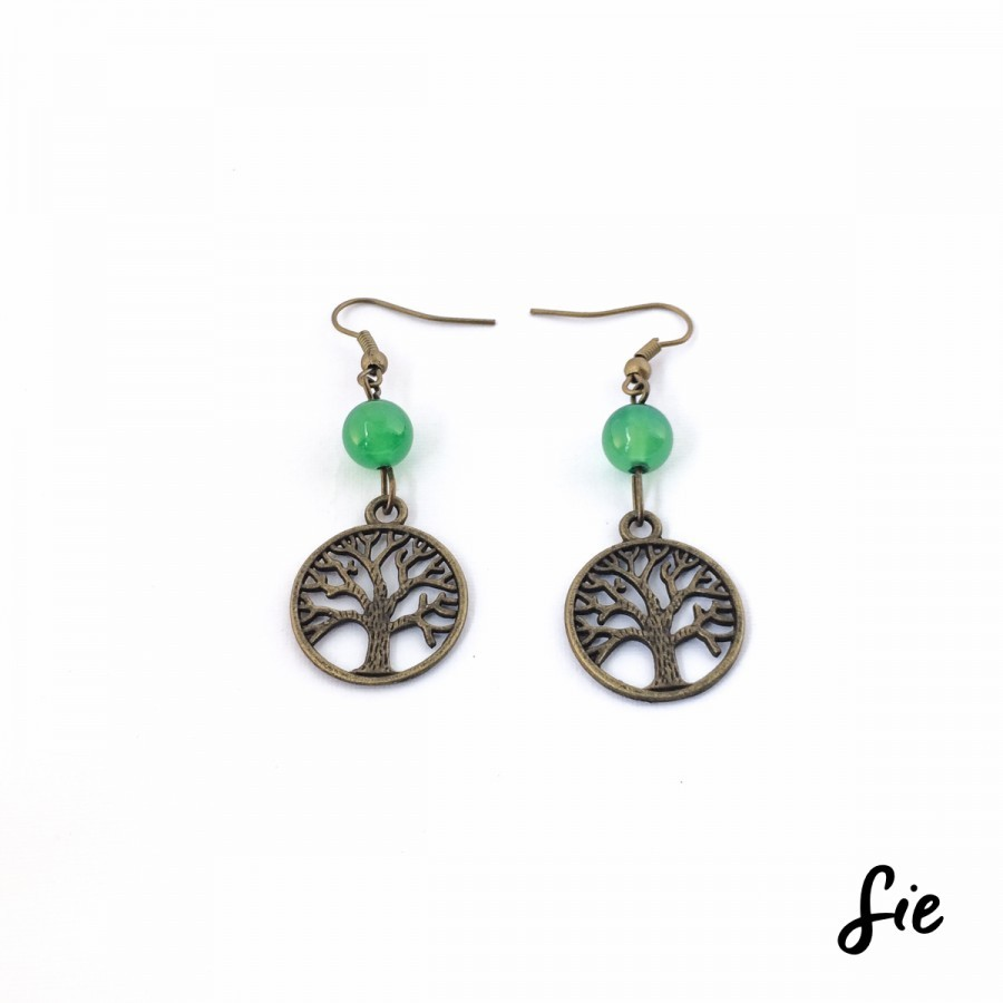Anting Tree of Life Bulat