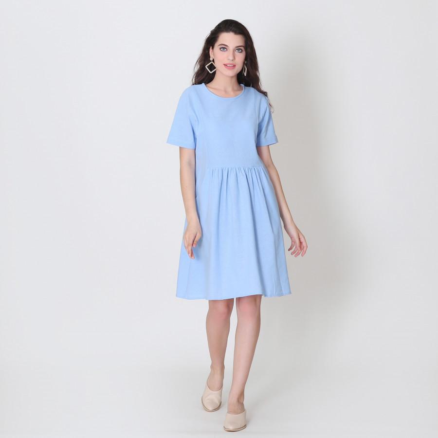 Furaha Barika Linen Dress