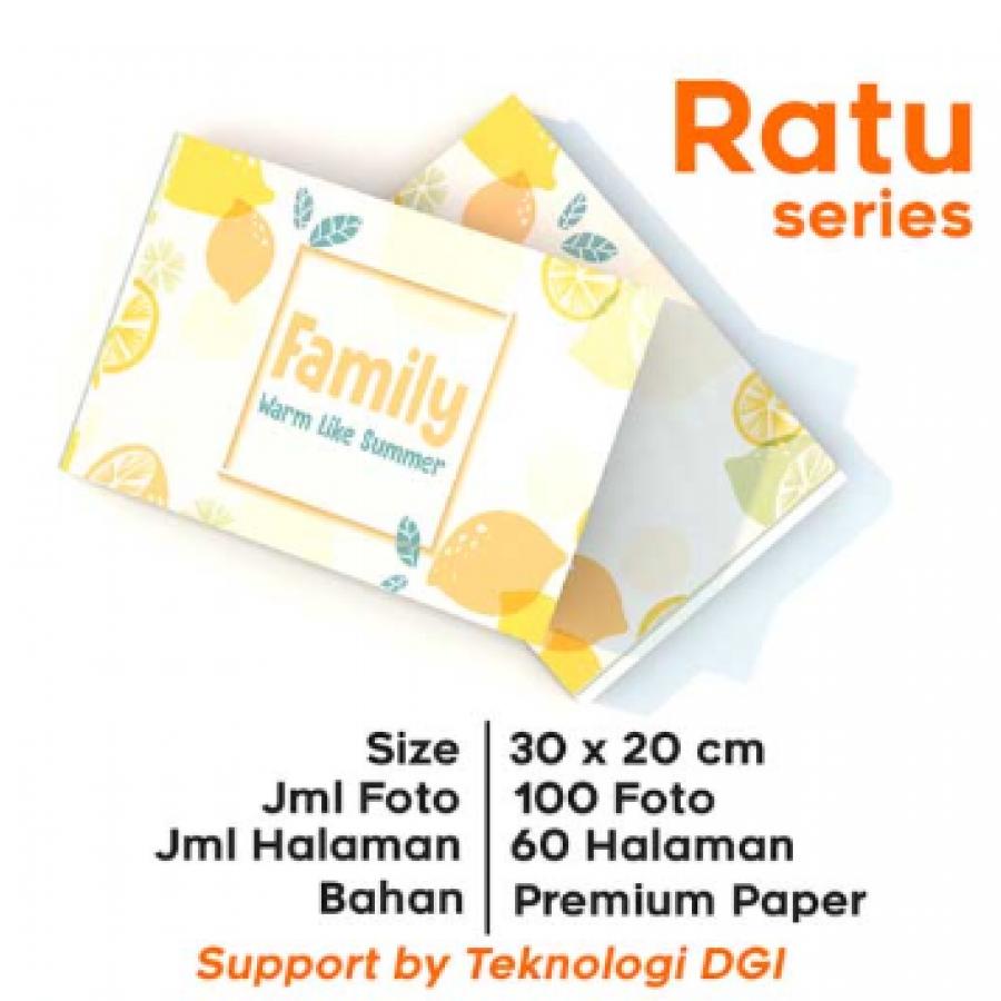 photobook custom RATU series 30x20cm (hardcover)