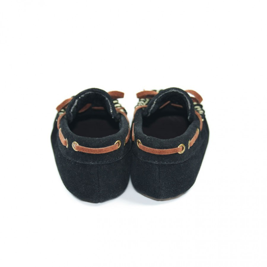 Tamagoo Sepatu Bayi Laki Baby Shoes Prewalker Marc Black Spec Masson Silver  Branded 3 6 Bulan Murah