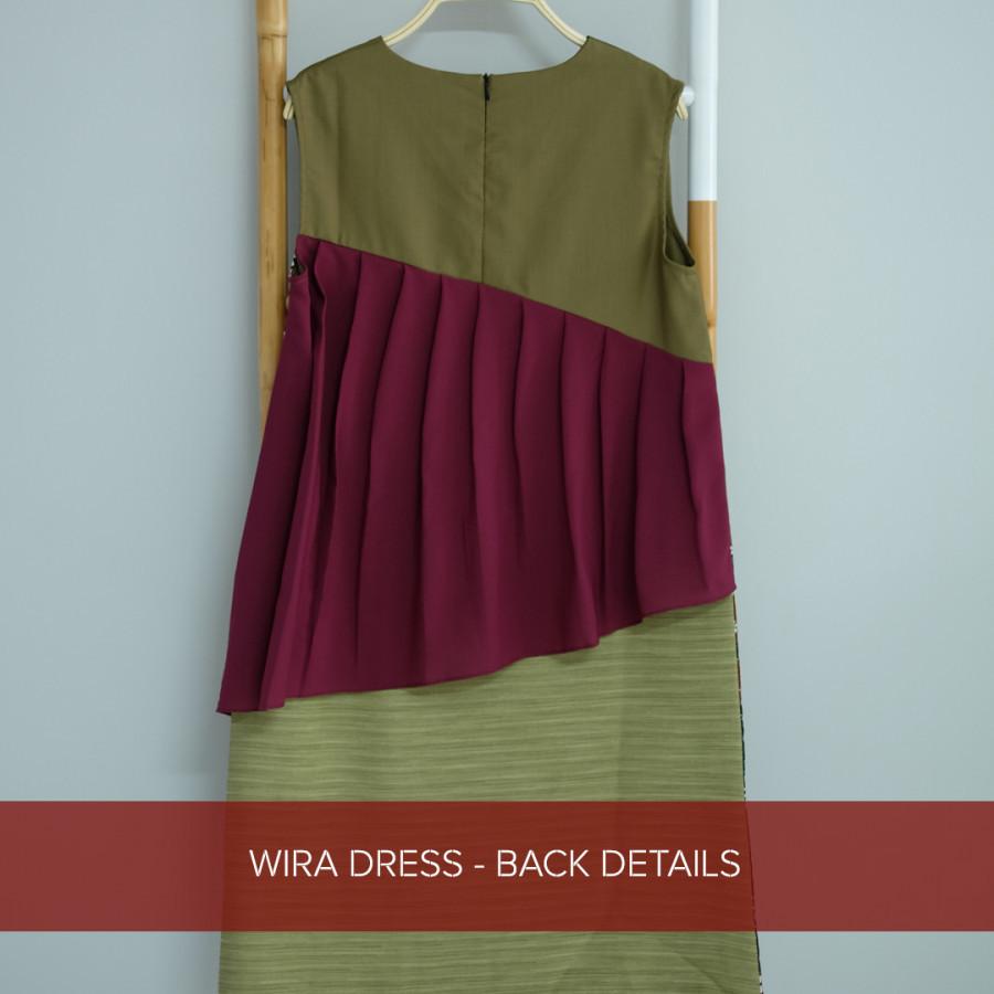 Wira Dress - Red