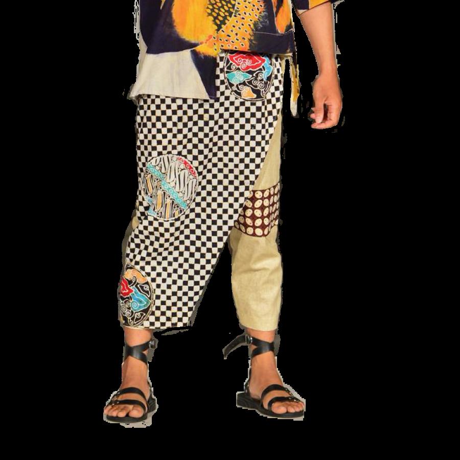 Unisex Trouser Mahogra