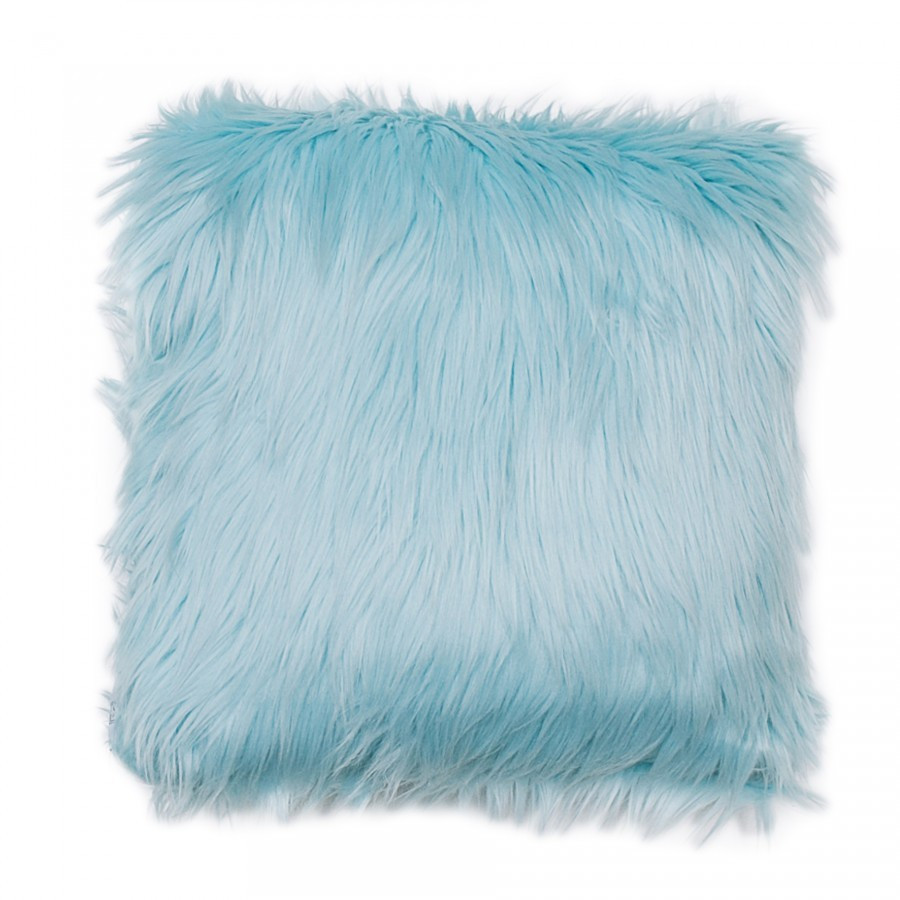 Bluebell Fur Cushion 40 x 40