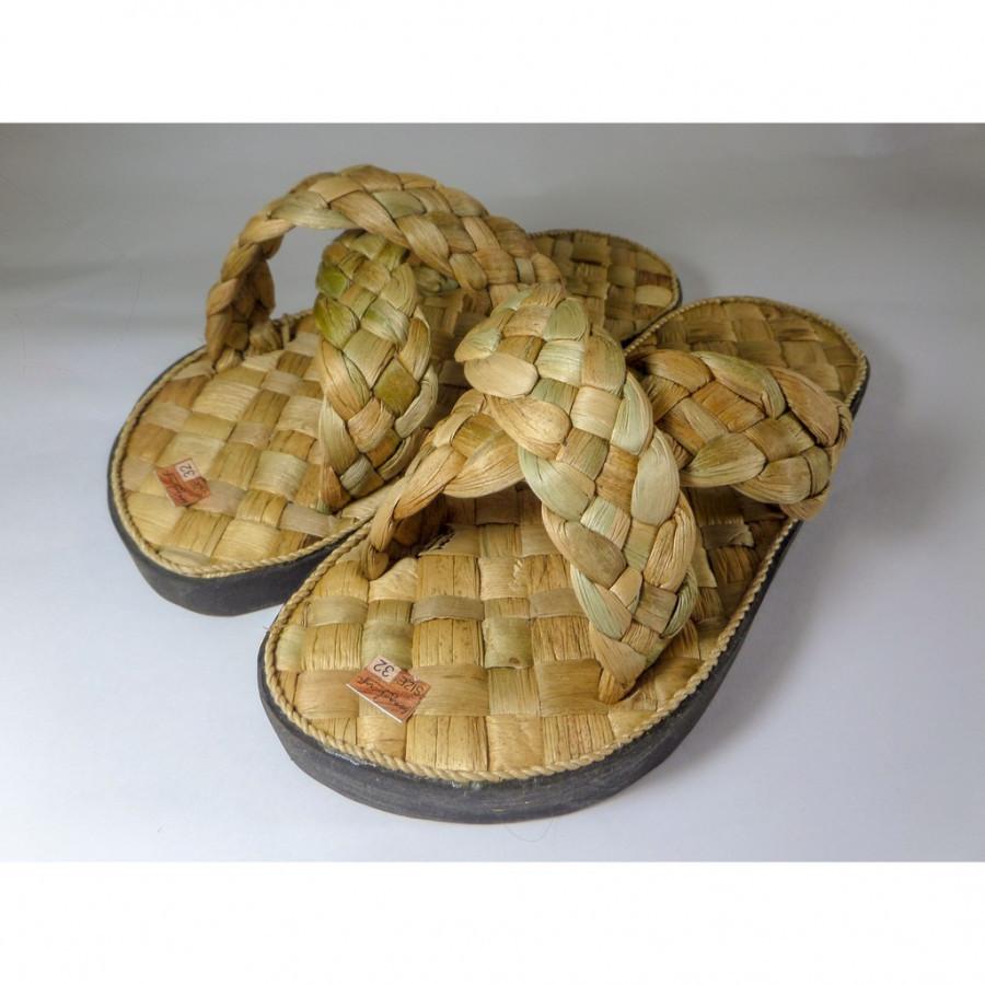 Bengok Slipper Selop X Kids_Sandal Anak Enceng Gondok Handmade