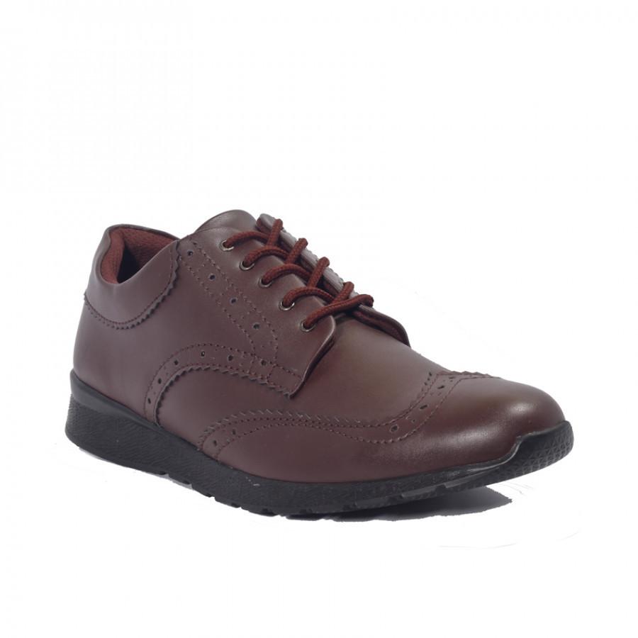 Lvnatica Footwear Wales Brown Sepatu Formal | Pantofels Pria