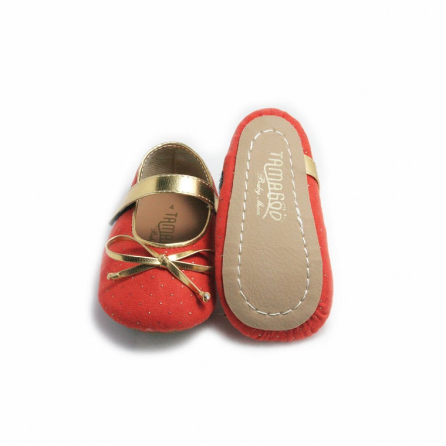 Tamagoo Sepatu Bayi Perempuan Baby Shoes Nicole Pink Harga Headband Prewalker Babyshoes Bundling Orange Murah
