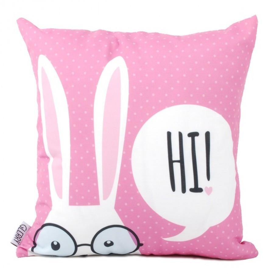 Hi Pink Cushion 40 x 40