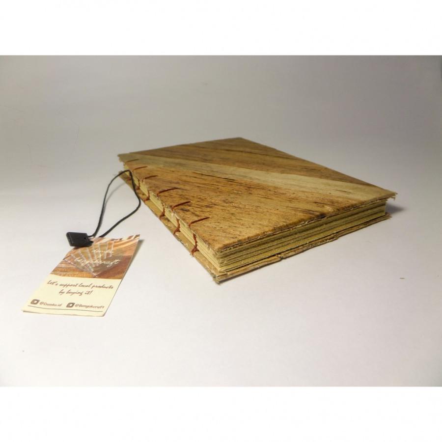 Bengok Book A6 Vertical_Notebook Enceng Gondok Handmade