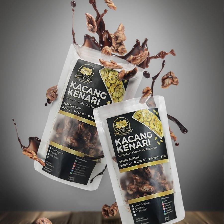 500 Gram Chocolate Roasted Kenari Nuts