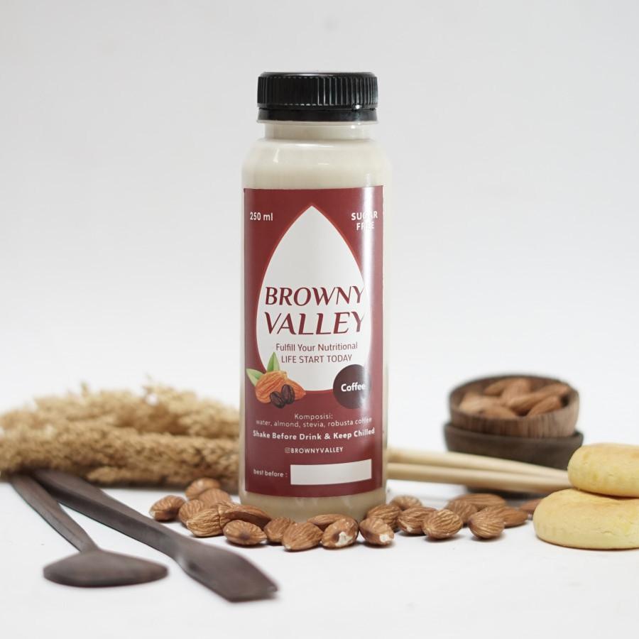Susu almond rasa coffee