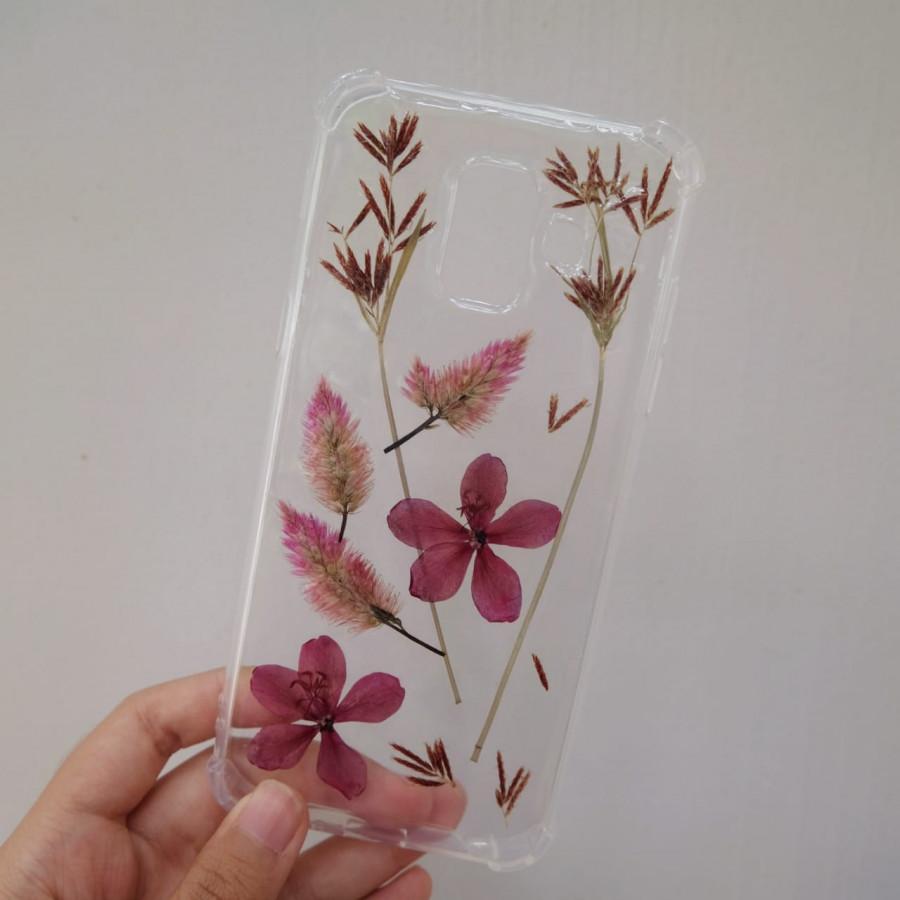 real flower case