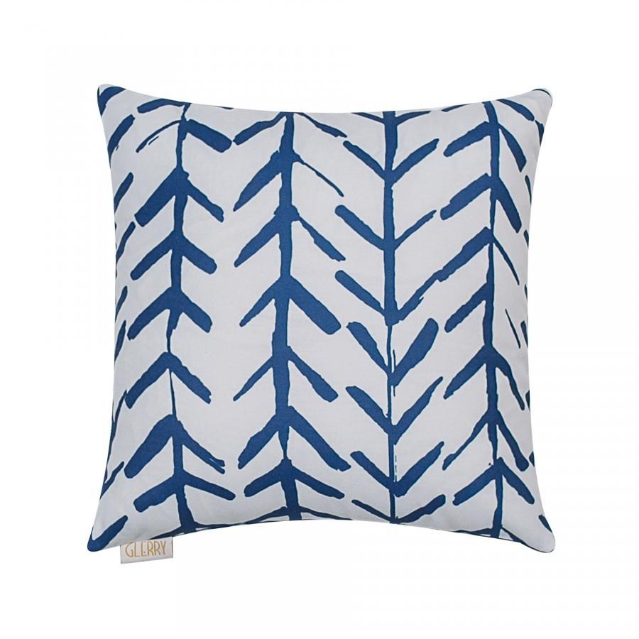 Blue Arrow Cushion 40 x 40