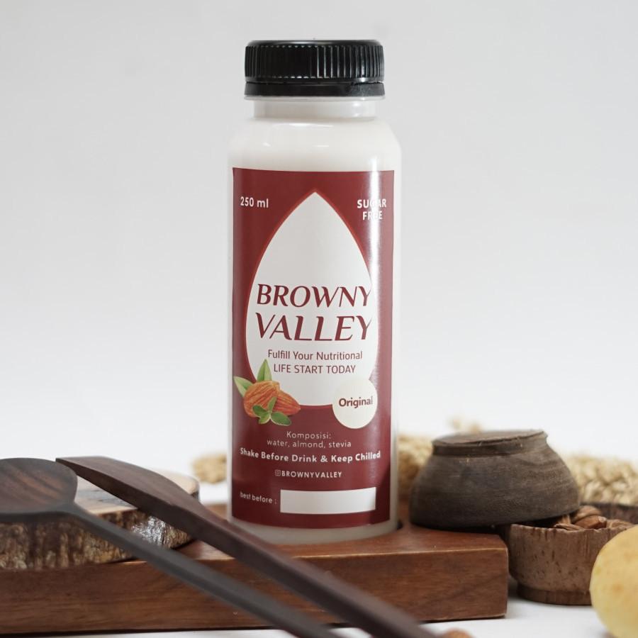 Susu almond rasa original