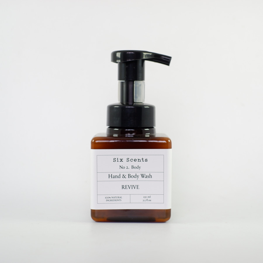 Six Scents - Revive Hand & Body Wash (250ml)